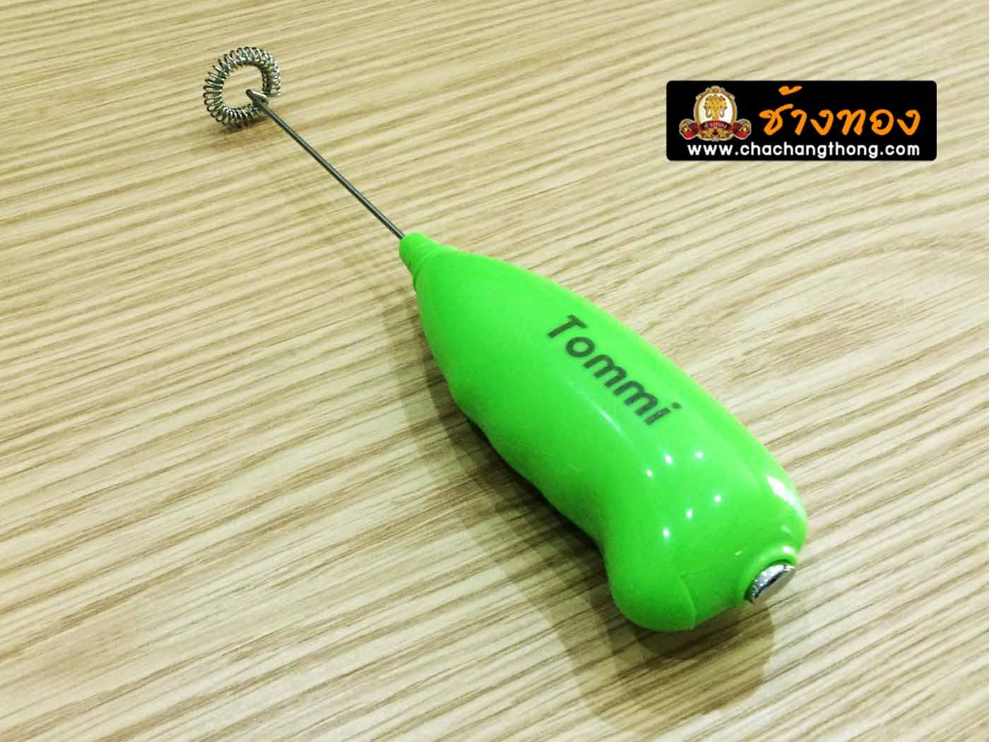 ที่ตีฟองนม tommi สีเขียว